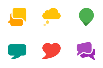 Speech Bubbles  Icon Pack