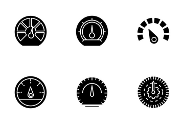 Speedometer Icon Pack