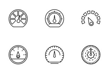 Speedometer Icon Pack