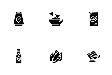 Spicy Dish Flavor Food Icon Pack