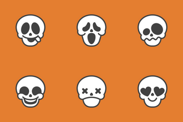 Spooky Emoji Icon Pack