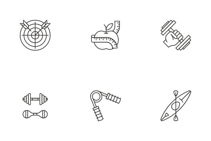 Sport And Fitness Icon Pack