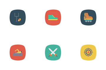Sport And Fitness Vol 1 Icon Pack