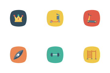 Sport And Fitness Vol 2 Icon Pack