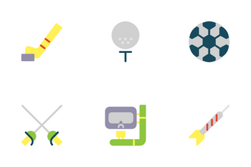 Sport And Healthy Living Icon Pack