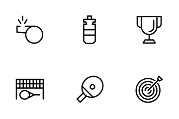 Sport And Trophy Icon Pack