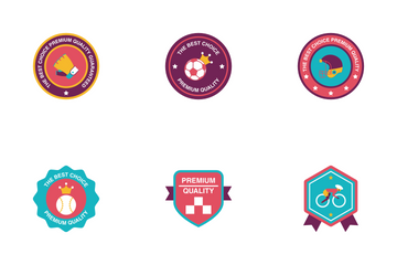 Sport Badge Icon Pack