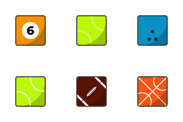Sport Balls Icon Pack
