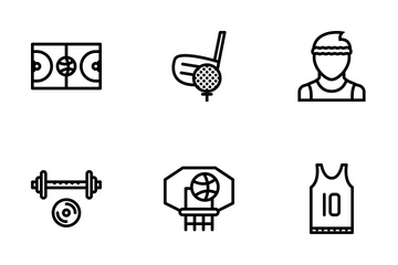 Sport Colored Icon Pack
