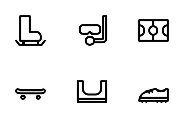 Sport Elements Icon Pack