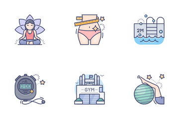 Sport & Fitness Vol.4 Icon Pack