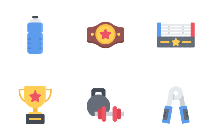 Sport Flat Icon Pack