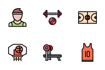 Sport Outline Icon Pack
