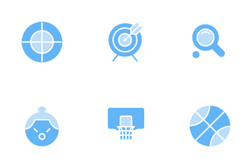 Sport (Soft Blue) Icon Pack