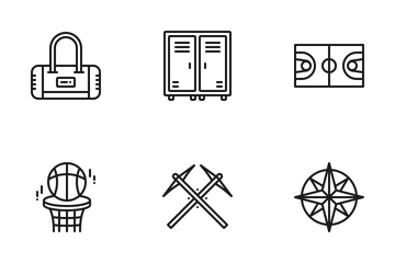 Sports & Activities Icon Pack