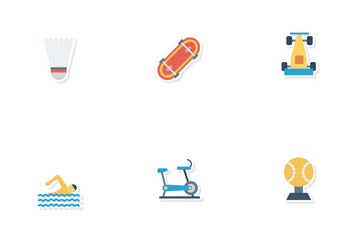 Sports And Fitness Vol 1 Icon Pack