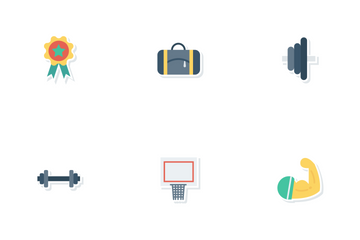 Sports And Fitness Vol 2 Icon Pack