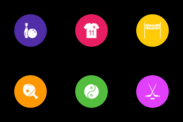 Sports And Games Icon Pack