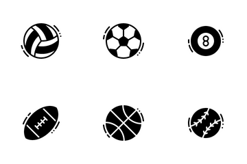 Sports Balls Icon Pack