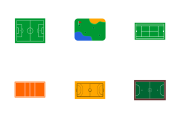 Sports Court Icon Pack