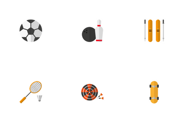 Sports Equipment Icon Pack