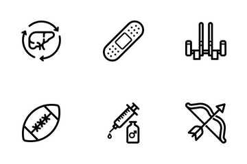 Sports & Fitness Icon Pack