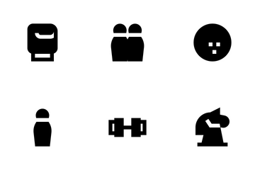 Sports Glyph 24 Px Icon Pack