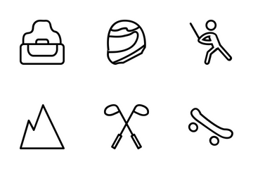 Sports Line Icons Icon Pack