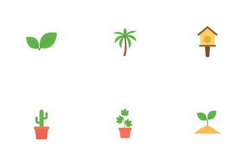 Spring Flat Vol 1 Icon Pack