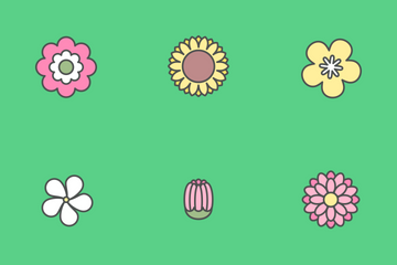 Spring Flower Icon Pack