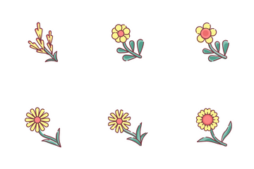 Spring Flowers Icon Pack