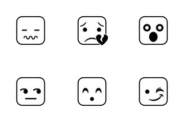 Squie Emoji Icon Pack