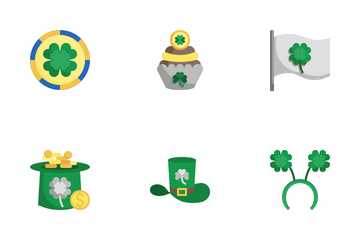 St Patrick Day Icon Pack