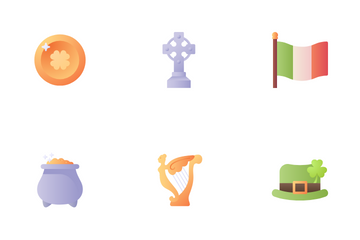 St Patrick's Day Icon Pack