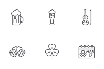 St. Patrick's Day Icon Pack