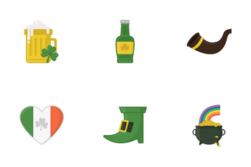 St. Patrick's Day Icons Icon Pack