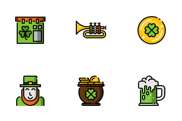 St. Patricks Day Icon Pack