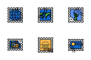 Stamp Icon Pack