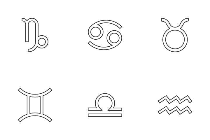 Star Sign Icon Pack