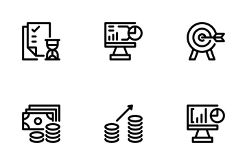 Start Up And Business Icon Pack