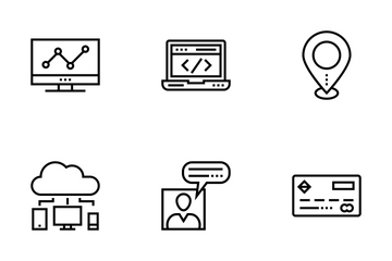 Startup And Development 1 Icon Pack