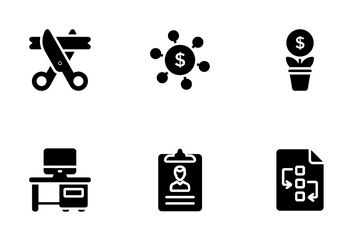 Startup And New Business 1 Icon Pack