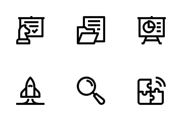 Startup And New Business Icon Pack