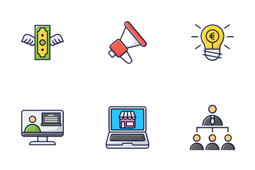 Startup & Business Icon Pack