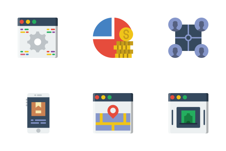 Startup - Flat Icon Pack