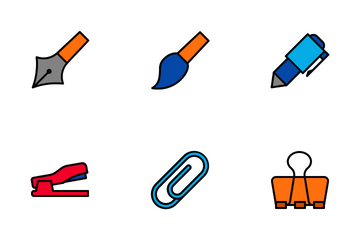 Stationary Icon Pack