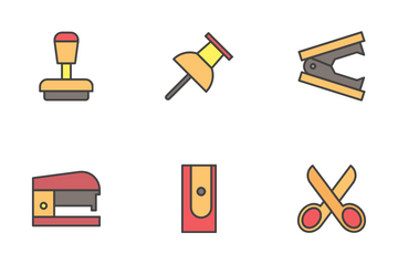 Stationary Opacity Style Icon Pack