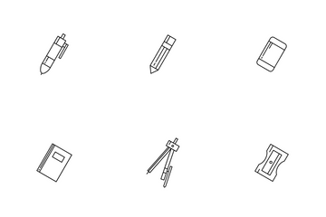 Stationary Tools Icon Pack