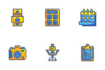 Stationery And Office Icon Pack