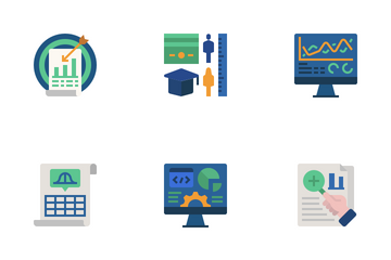 Statistical Analysis Icon Pack